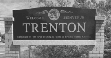 Trenton welcome sign