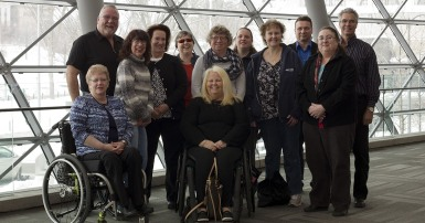 Group photo: National Persons with Disabilities Committee 2016